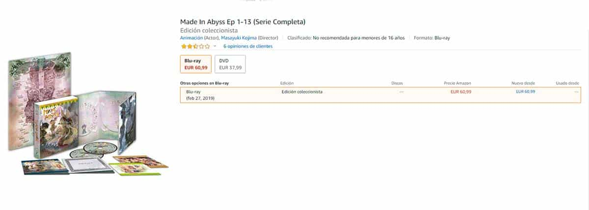 made in abyss serie completa