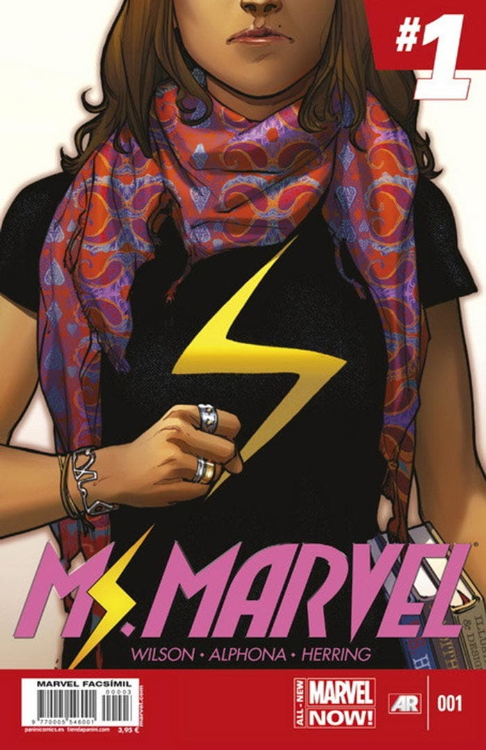 Ms. Marvel 1 Facsímil (Marvel - Panini Cómics)