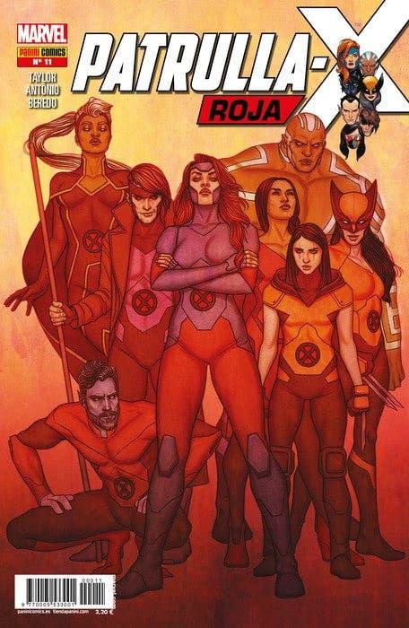 Marvel patrulla-x roja #11