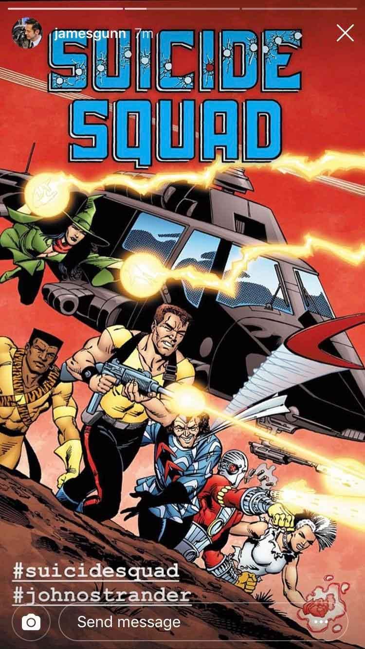 James Gunn usará a este personaje de DC para Escuadrón Sucida 2
