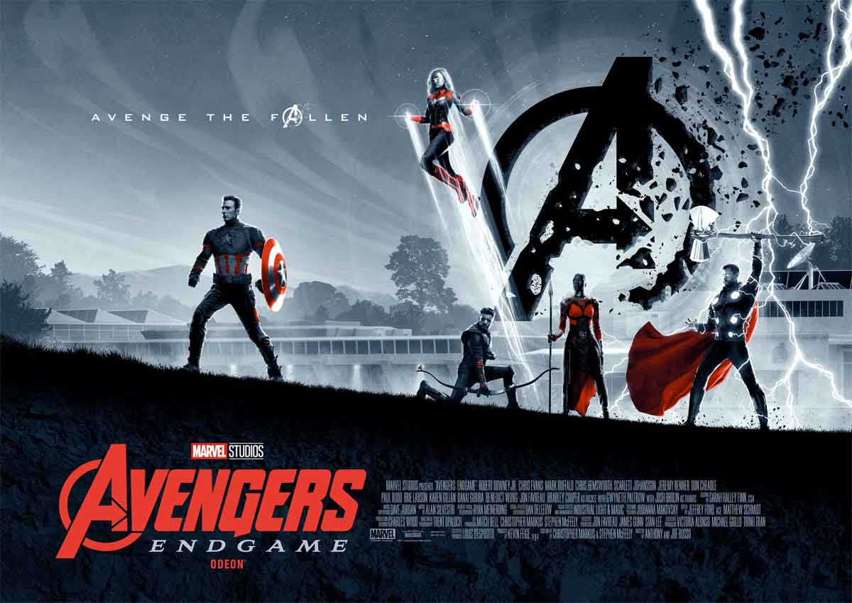 Dos espectaculares póster exclusivos de Vengadores: Endgame