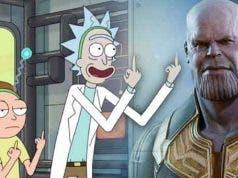 Rick y Morty se burlan de Thanos y de Vengadores: Infinity War