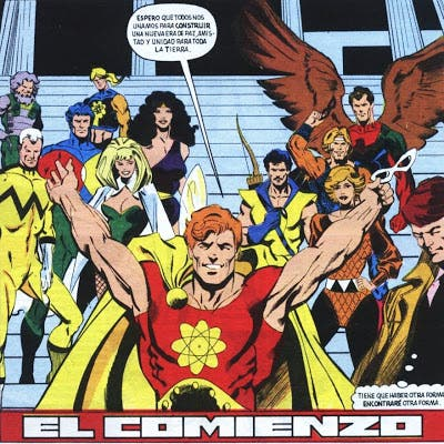Escuadrón Supremo de Mark Gruenwald (MARVEL COMICS)