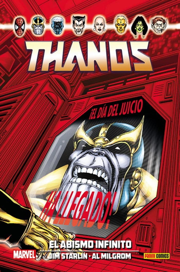 Thanos: El abismo infinito (Marvel - Panini Cómics)
