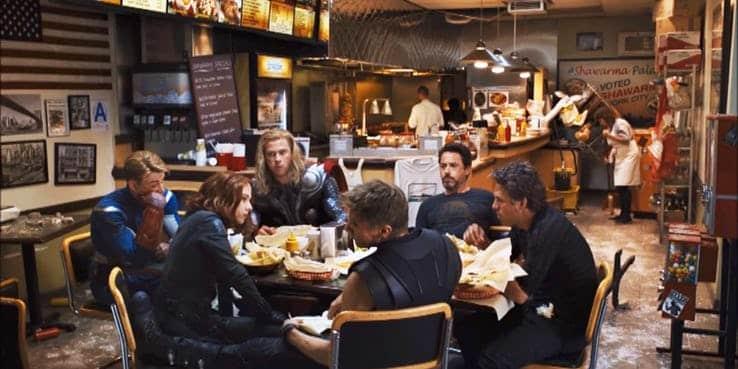 Los Vengadores shawarma