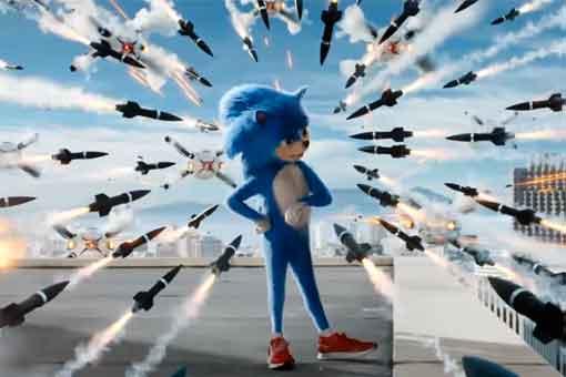 Divertido primer tráiler de Sonic La película