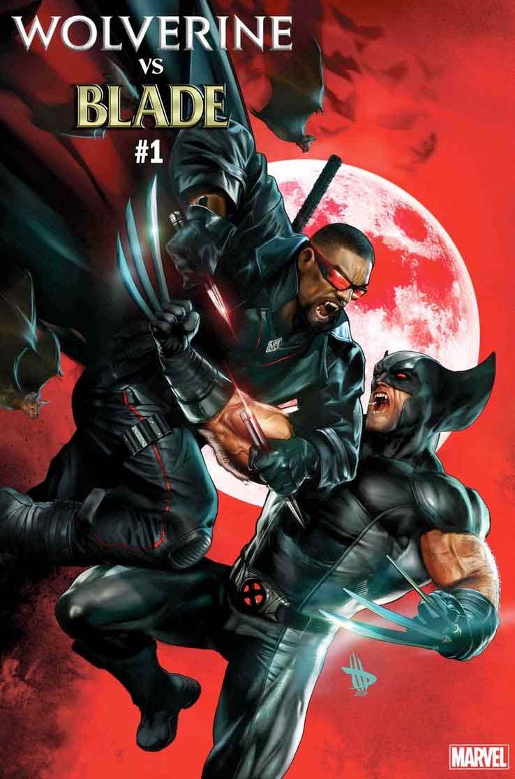 Wolverine y Blade luchan para decidir quién es el más mortal de Marvel