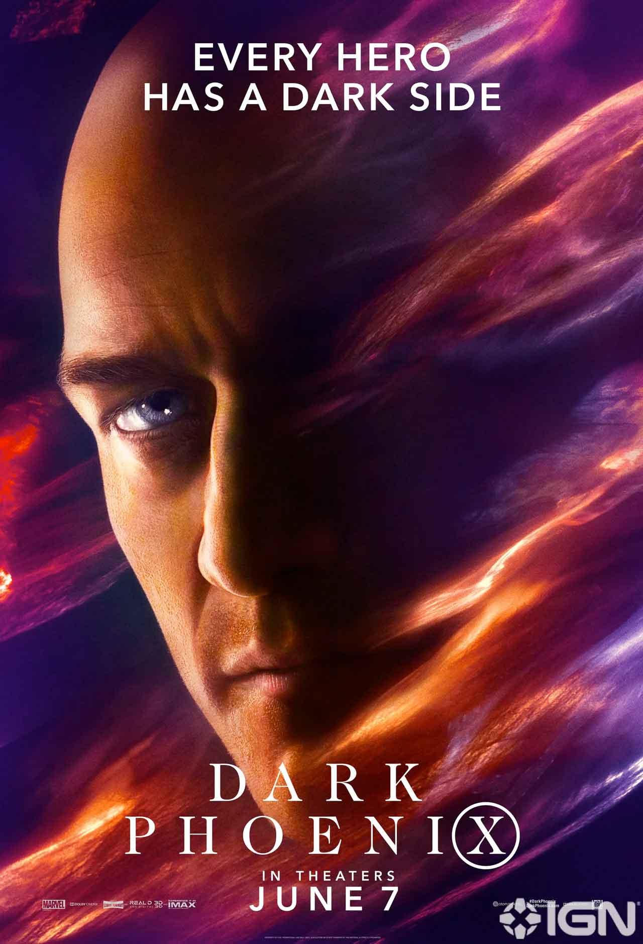 10 espectaculares pósters de X-Men: Fénix Oscura