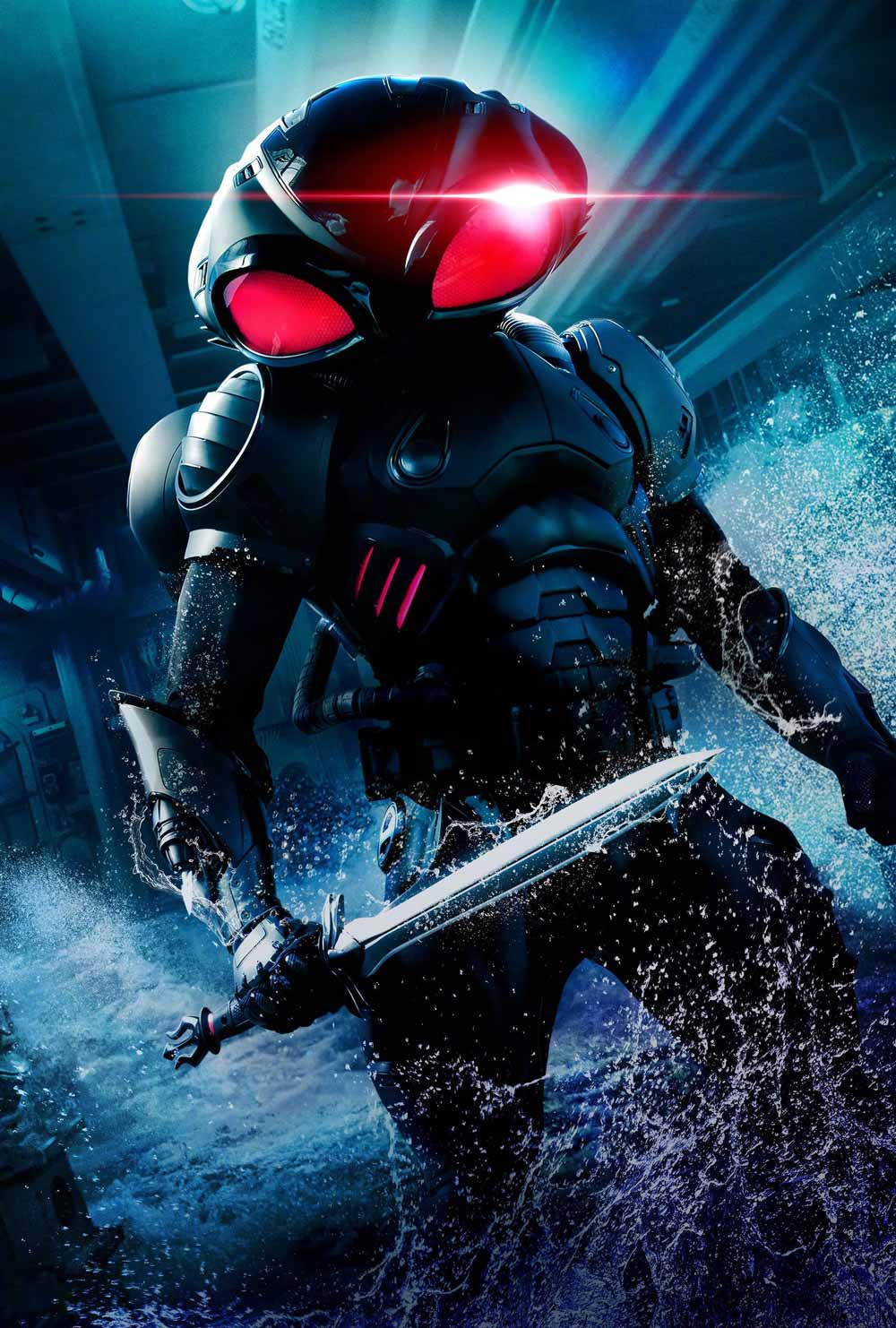 Black Manta Character-Textless Poster