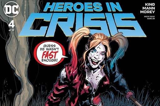 DC Comics Héroes en Crisis 4