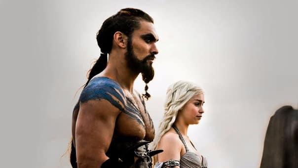 Khal Drogo y Daenerys