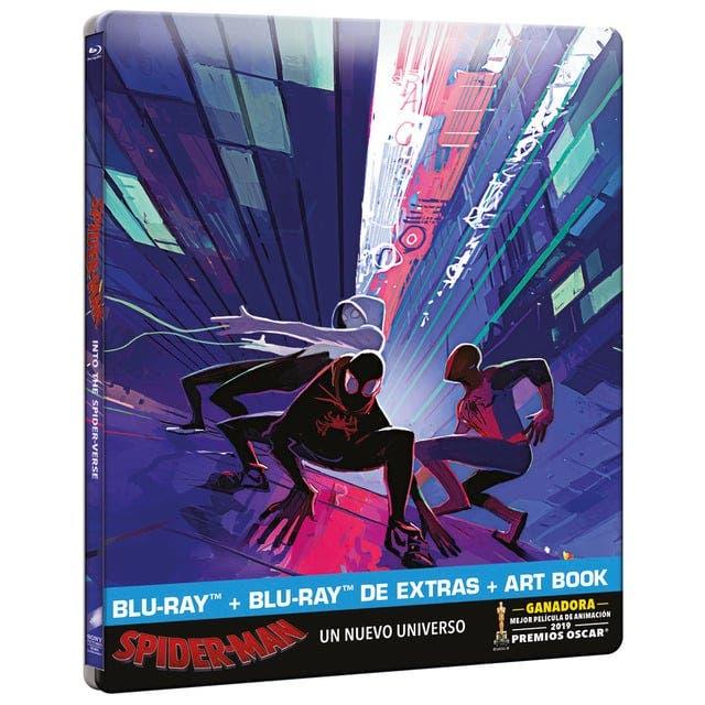 Spider-Man: Un Nuevo Universo Analisis del Blu-Ray Steelbook