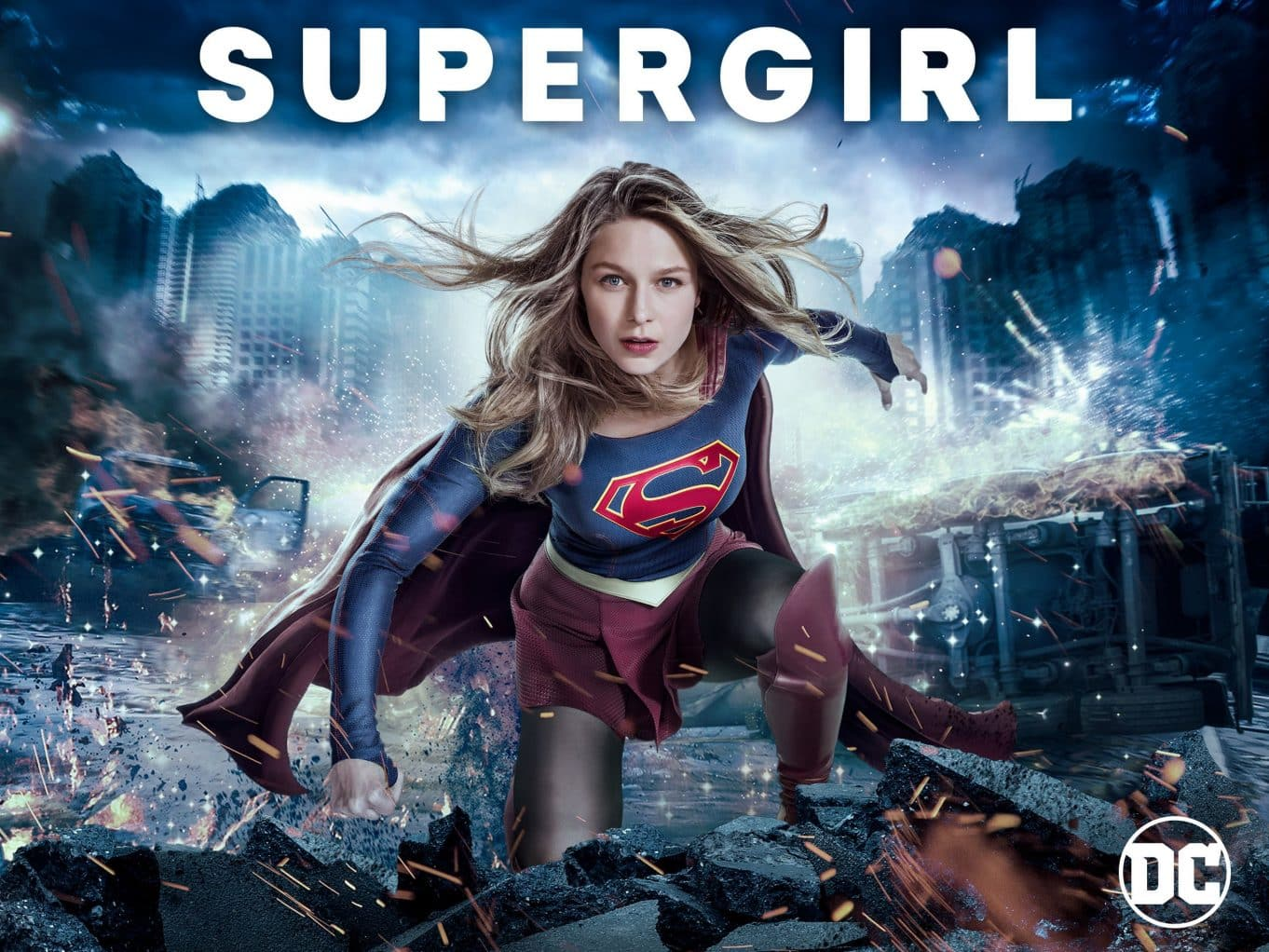 Supergirl temporada 3 cover