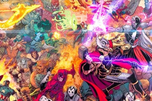MARVEL USA The War of the Realms #1