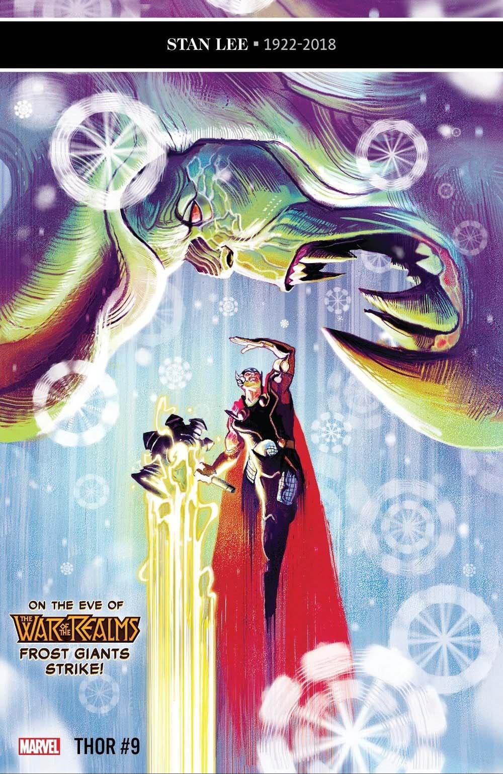 Marvel Portada THOR #8 jason Aaron