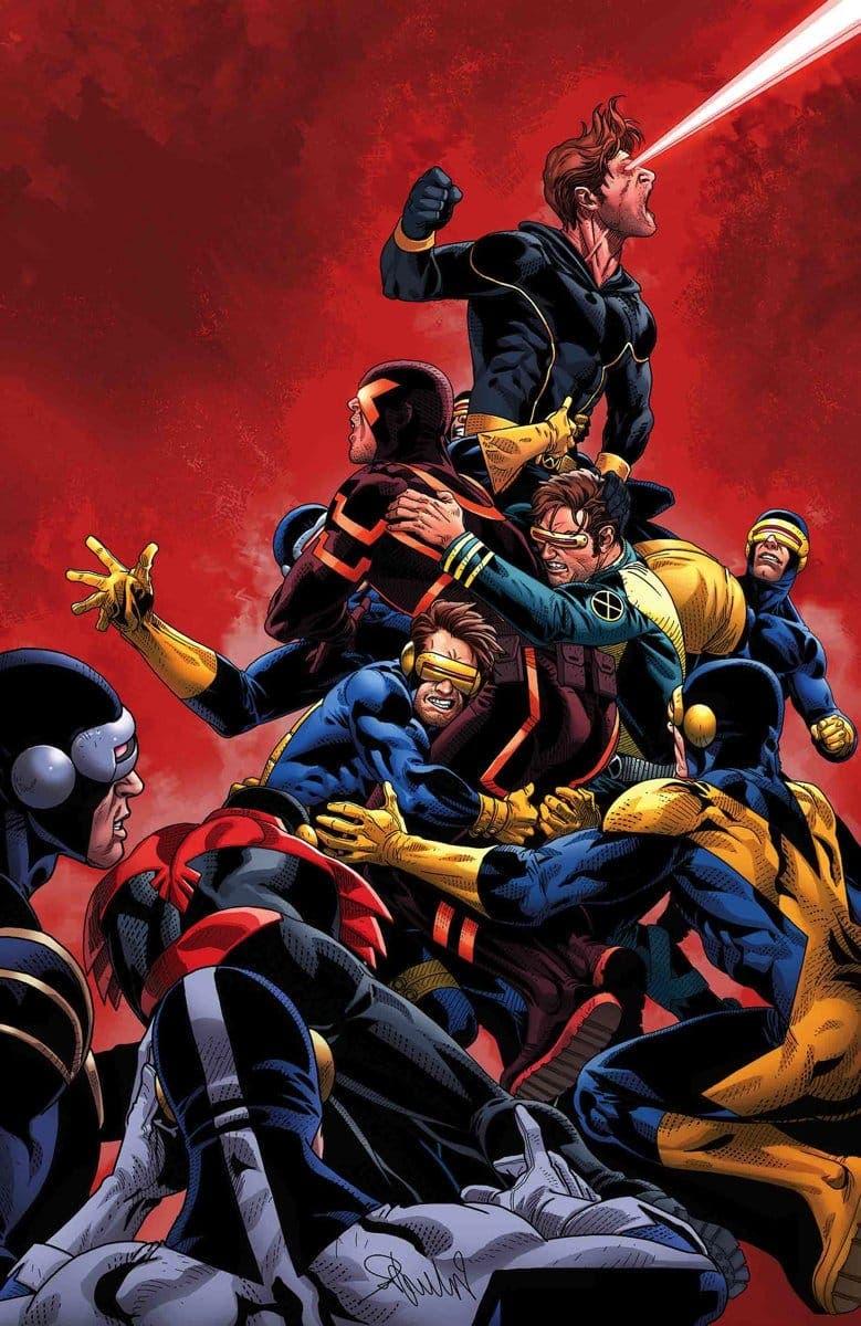 Uncanny X-Men 8-10 USA