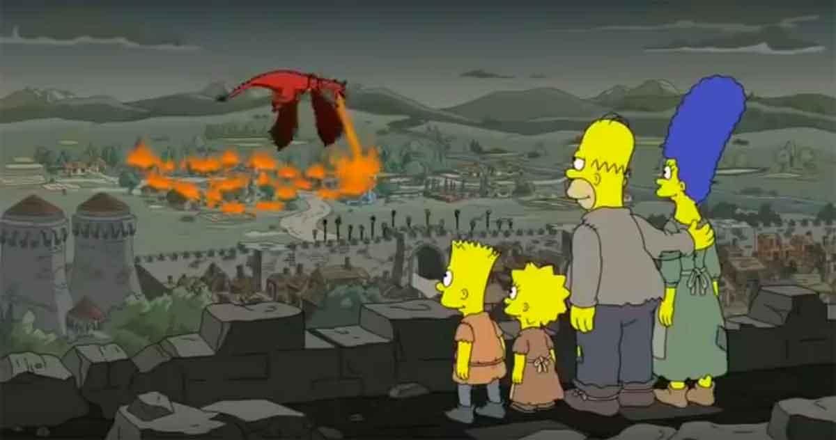 Los Simpson predijeron lo que ocurre en Juego de Tronos