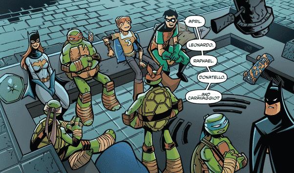 Impresiones de un traidor: Batman + Tortugas Ninja = Diversión asegurada