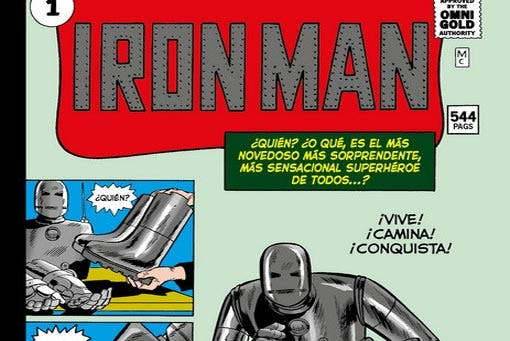 Marvel Gold: Iron Man 1 (Panini Cómics)
