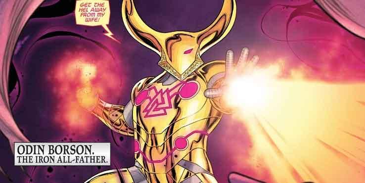 Odín se ha convertido en el nuevo Iron Man de Asgard