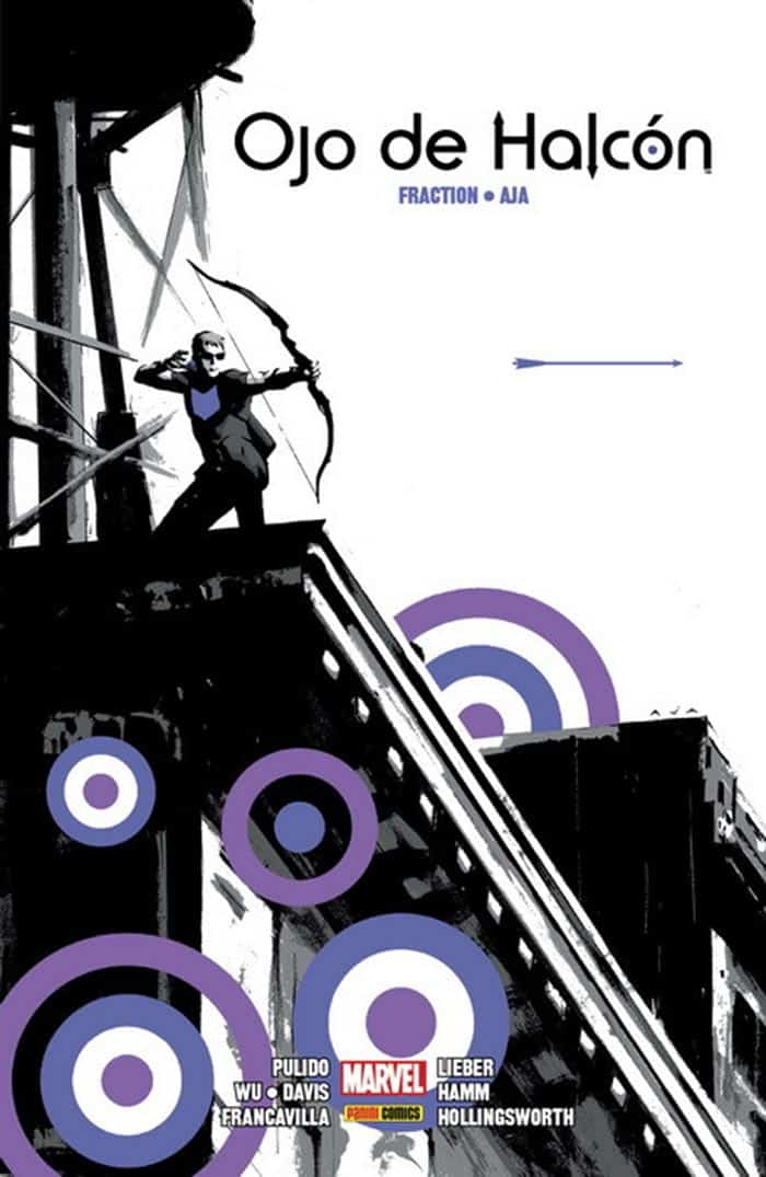 Ojo de Halcón, de Matt Fraction y David Aja (Panini Cómics - Marvel)