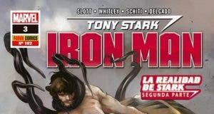 portada Marvel Iron Man N3 La Realidad de Stark Parte II