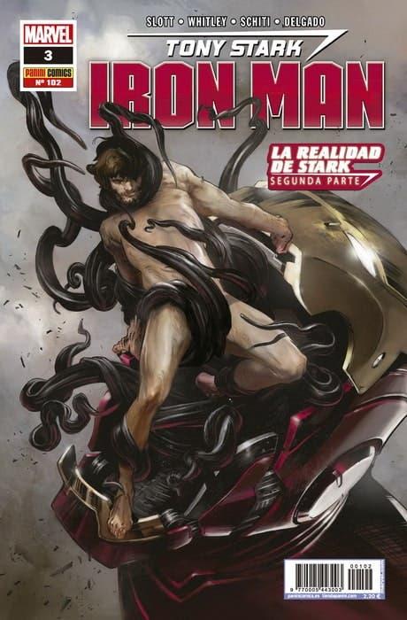 portada Iron Man n3 La Realidad de Stark Parte II