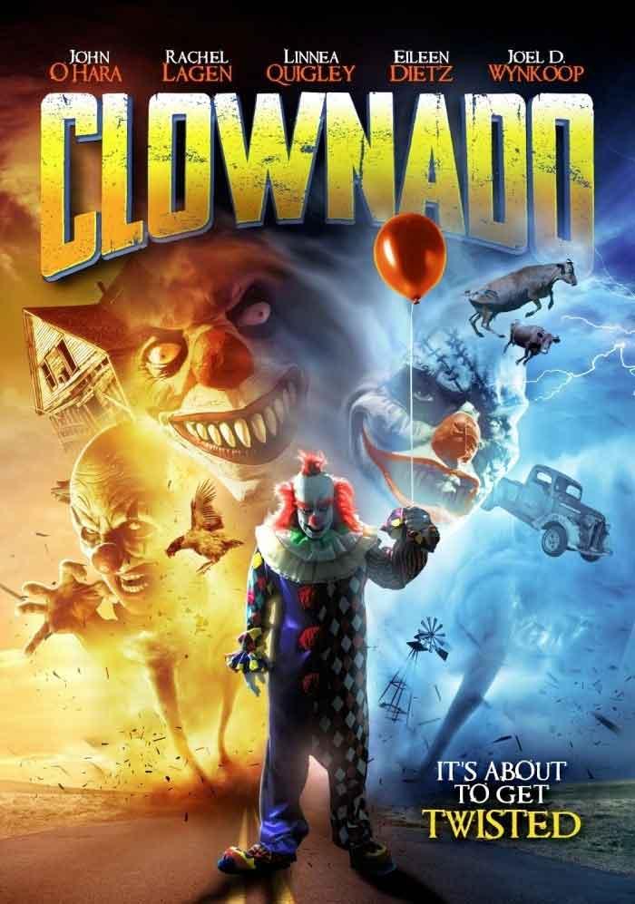 Tráiler de Clownado: Como Sharknado pero con payasos