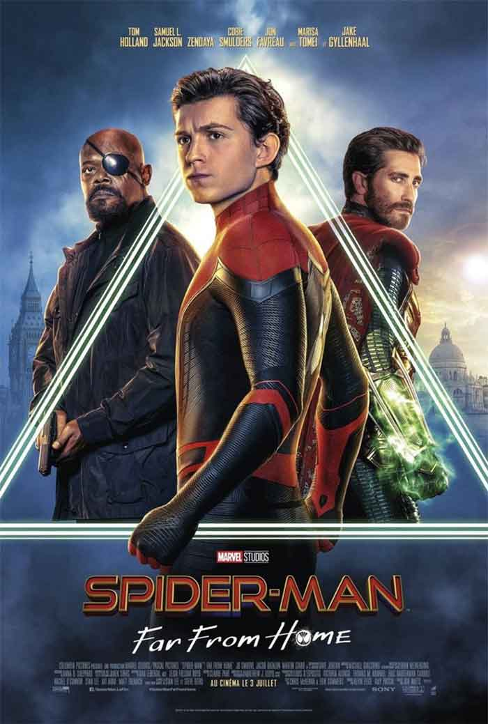 6 espectaculares pósters de Spider-Man: Lejos de casa