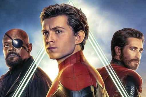 poster spider-man:lejos de casa