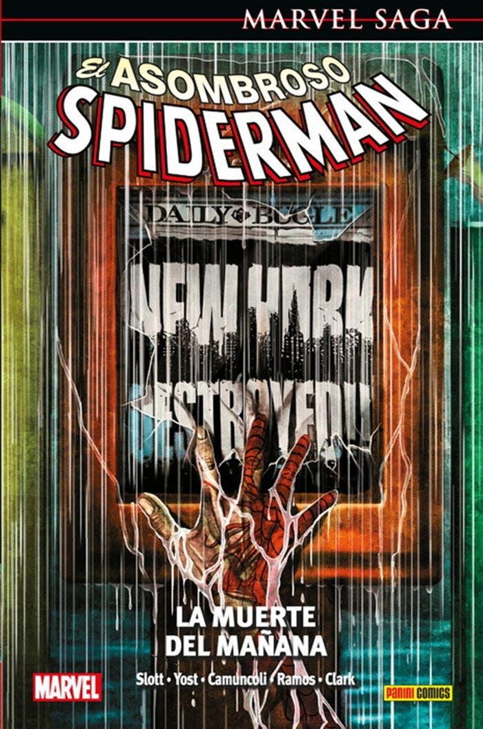 El Asombroso Spiderman: La muerte del mañana (Marvel - Panini Cómics)