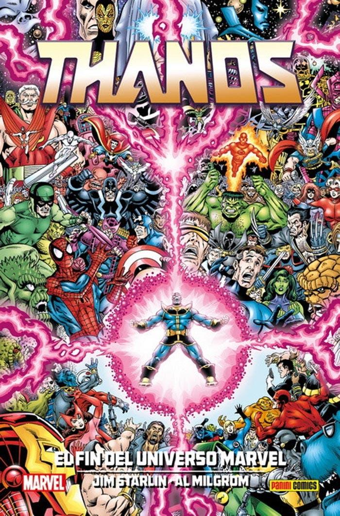 Thanos: El fin del Universo Marvel (Panini Cómics)