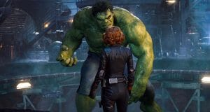 Black Widow hulk Vengadores la era de ultron