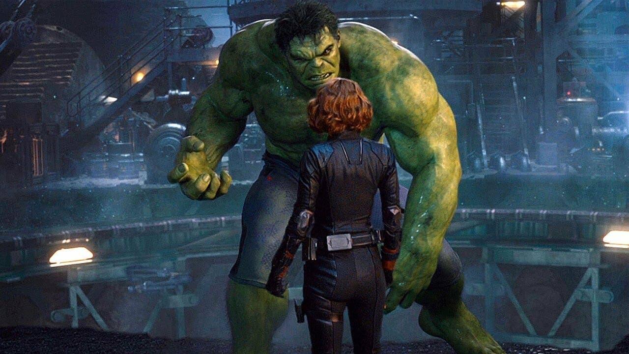 Black Widow hulk Vengadores la era de ultron