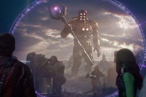 Eso el buscador Los eternos marvel en Guardianes de la galaxia