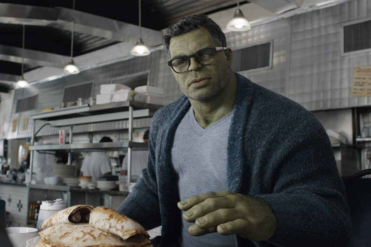 Smart hulk en Vengadores: Endgame