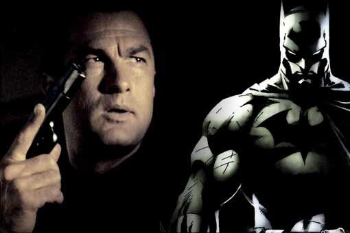 Steven Seagal casi protagonizó una película de Batman