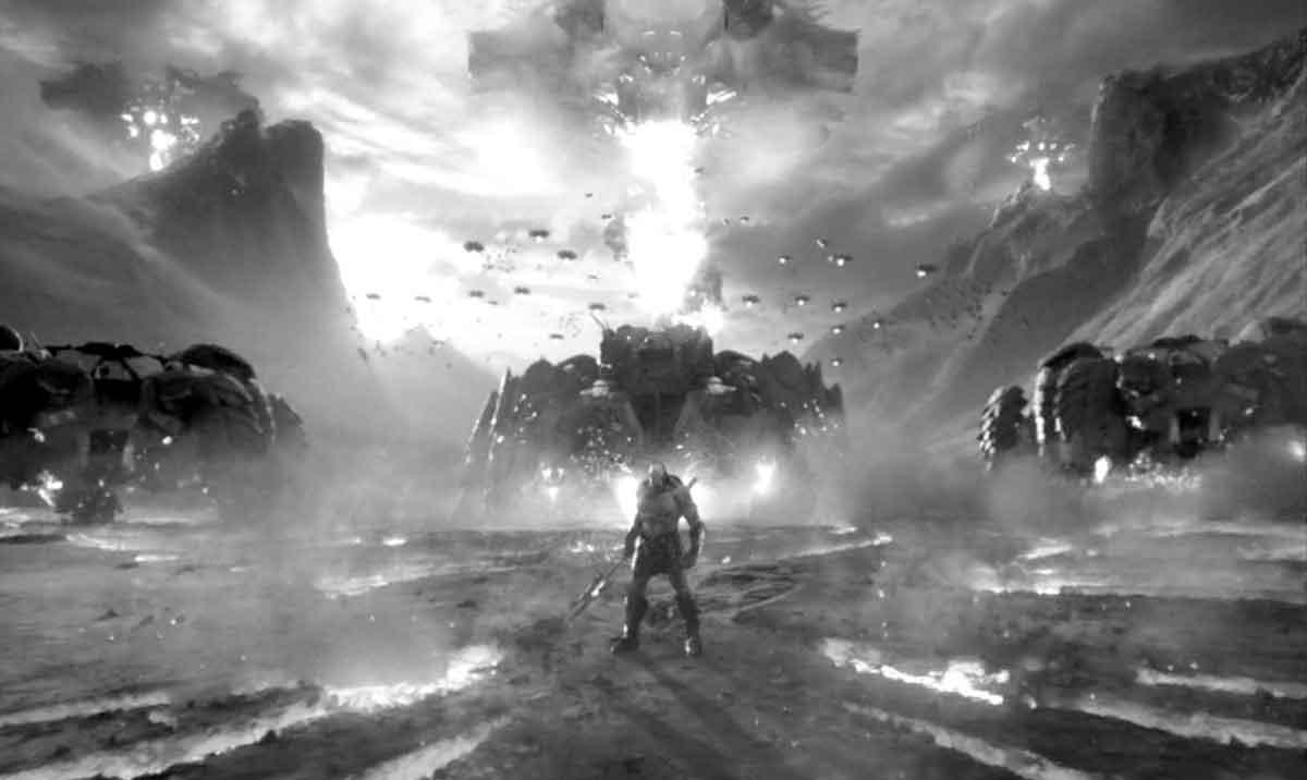 Zack Snyder enseña una imagen de Darkseid de Liga de la Justicia