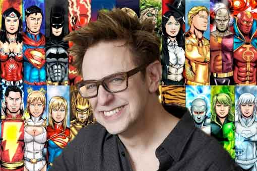 James Gunn reiniciará el Universo Cinematográfico de DC Comics