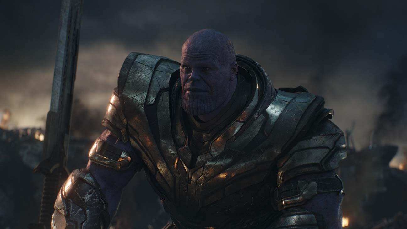 Joven Thanos en Vengadores: endgame
