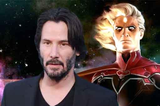 Keanu Reeves podría interpretar a Adam Warlock en Marvel Studios