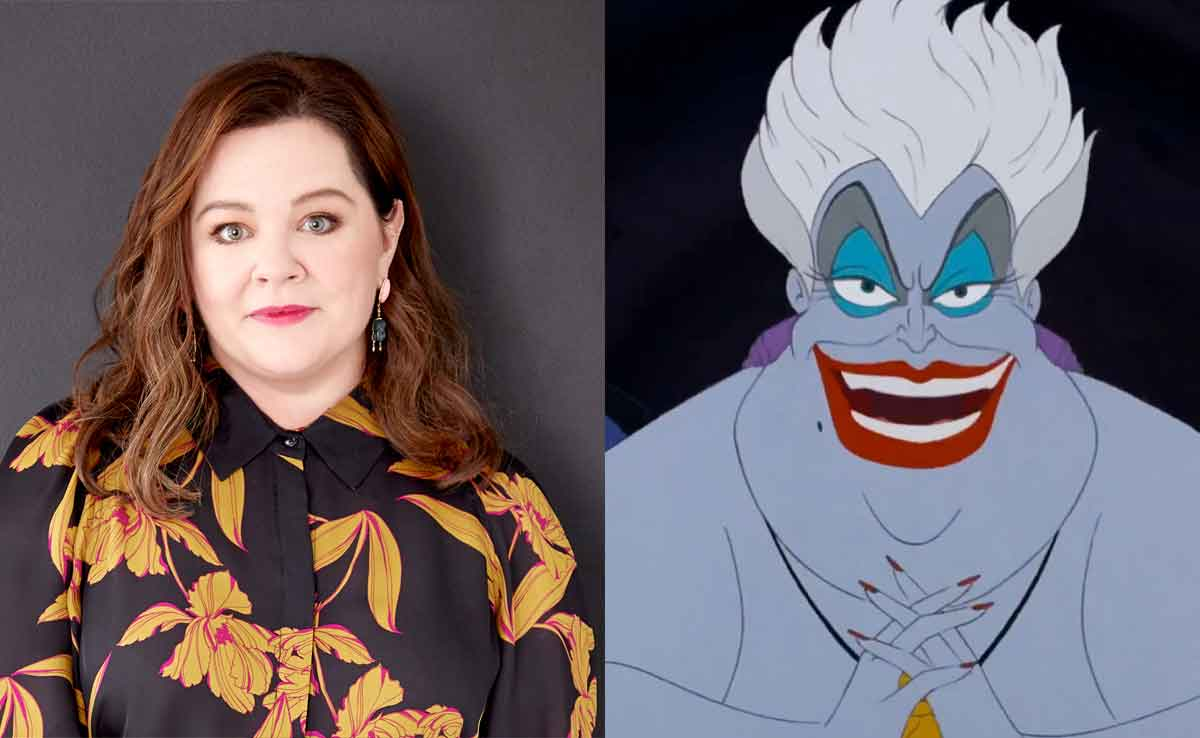 La Sirenita: Melissa McCarthy podría ser la villana Ursula