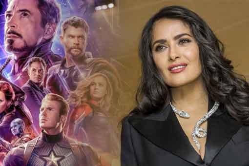 Marvel quiere fichar a la actriz Salma Hayek