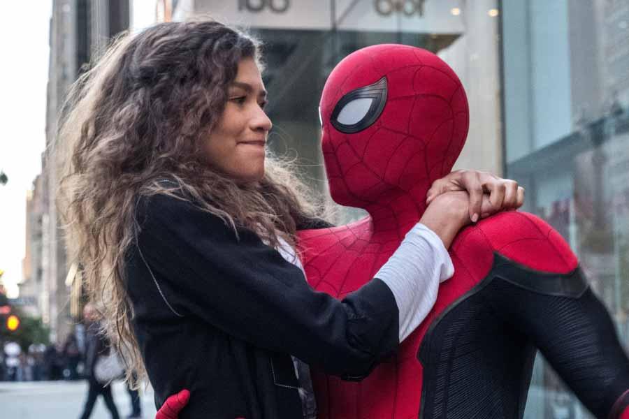 spider-man: lejos de casa. MJ y spidey