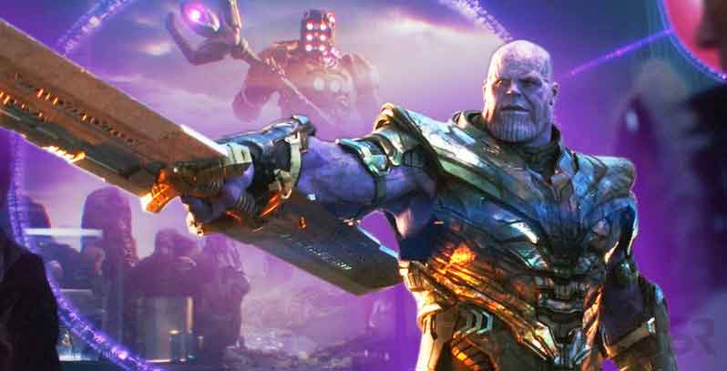 El origen de la poderosa arma de Thanos de Vengadores: Endgame