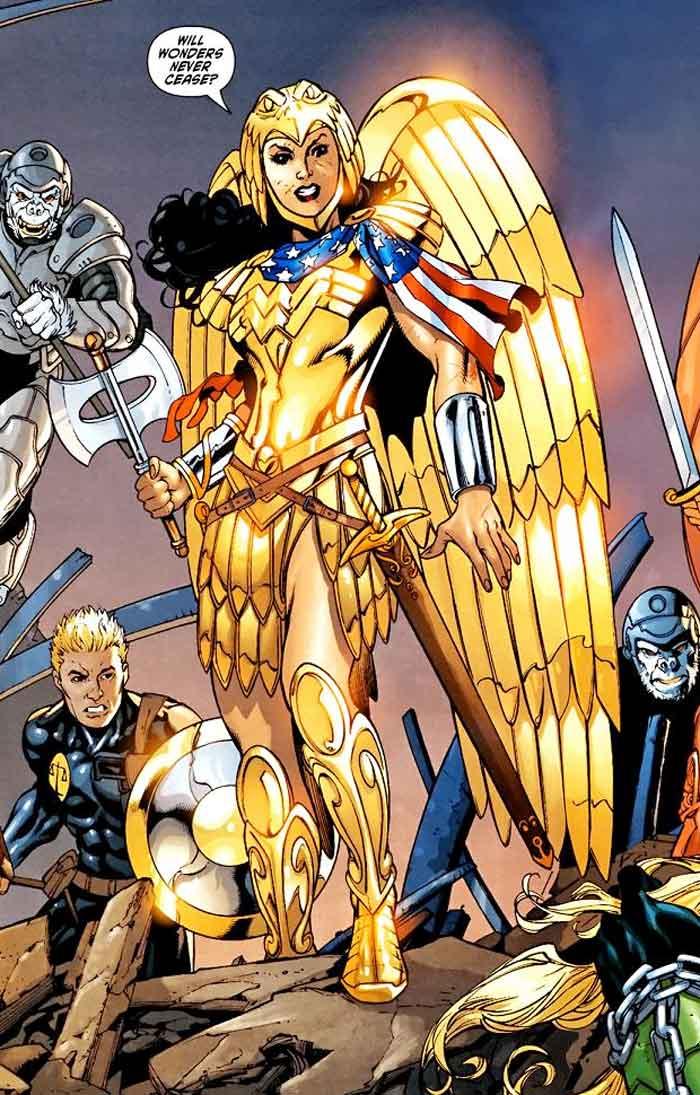 Wonder Woman 1984 sacude el mundo con su espectacular armadura