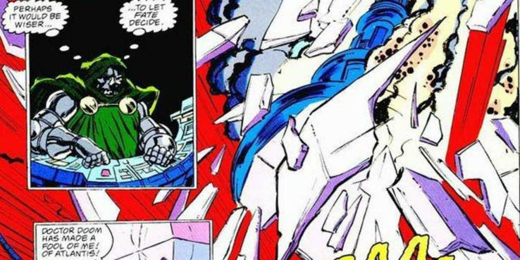 Doctor Doom es derrotado por Namor