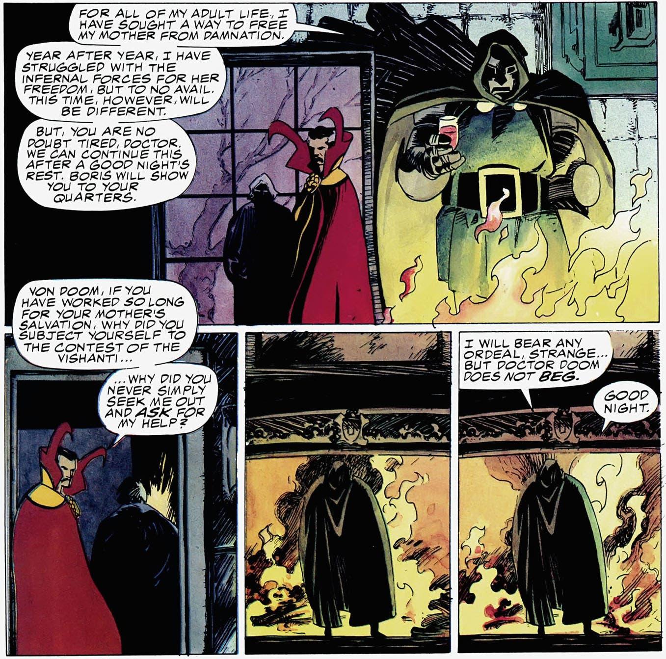 Doctor Extraño y Doctor Muerte Triunfo y Tormento