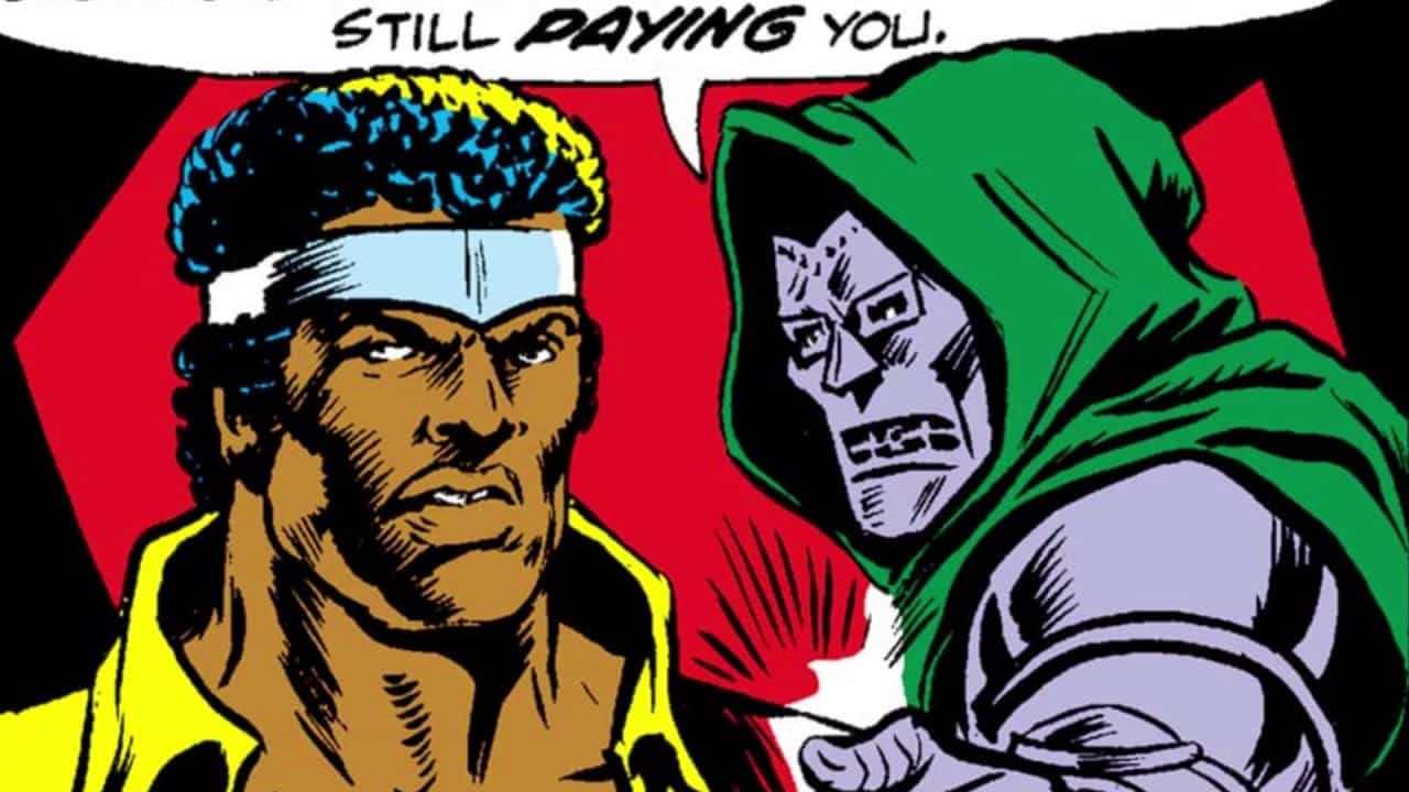Marvel Doctor doom luke cage