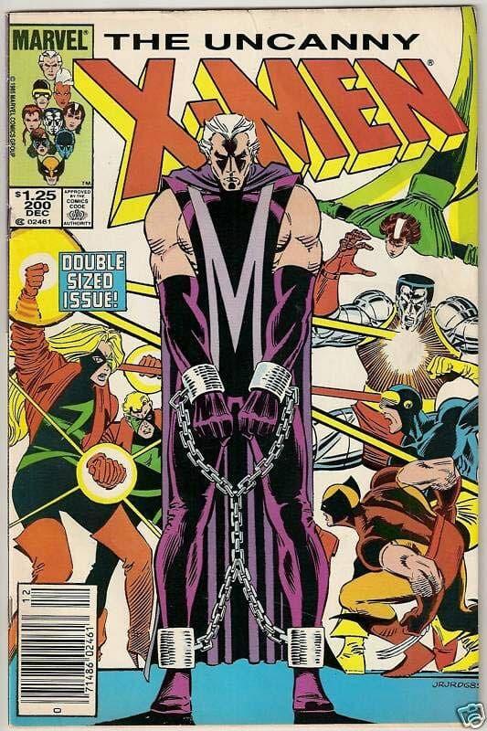 The Uncanny X-men El Juicio de Magneto